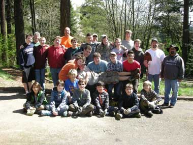 Many thanks to everyone who participated, which included a couple of Scouts from Troop 591.